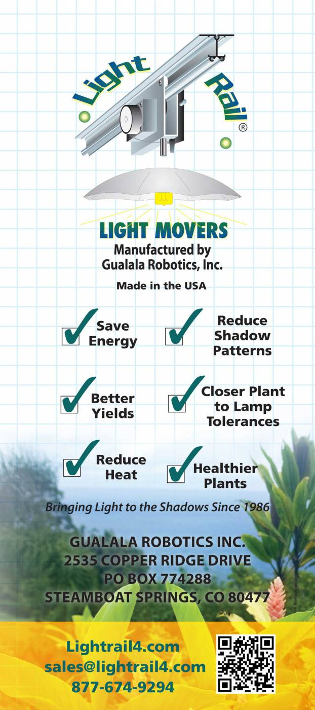 A Guide to moving your light - Back Cover