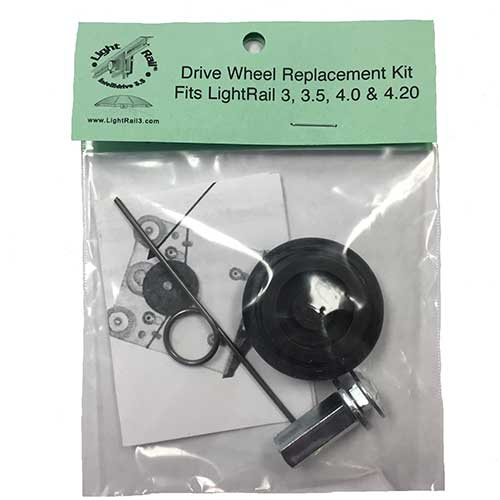 LightRail Drive Wheels Replacement Kit is compatible to LightRail 3.5, LightRail 4.0, LightRail 4.20 as well as the older LR3.0 grow light systems.