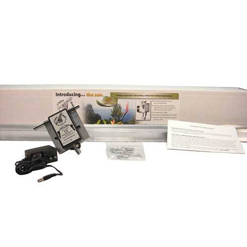 LightRail 4.0 AdjustaDrive Kit is the grow light mover with adjustable speed.