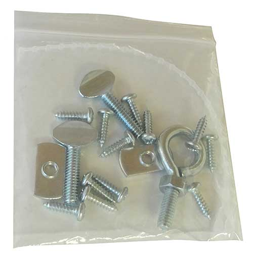 The Lightrail Drive Unit Hardware Pack is a complete pack for the LightRail grow light mover install.