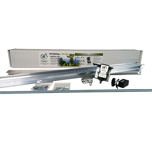 LightRail 4.20 AdjustaDrive Kit is the grow light system meant to move two indoor grow lights in-line.
