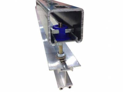 LightRail light movers have strut channel compatible custom rails for indoor grow setups
