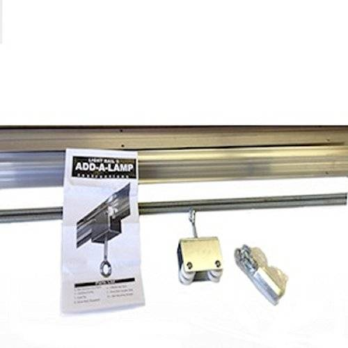 Photo of LightRail Add A Lamp Kit for moving extra grow light with existing motor.