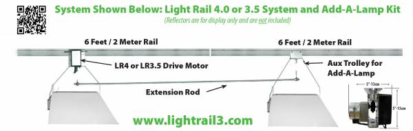 LightRail light mover Add A Lamp is efficient and versatile.