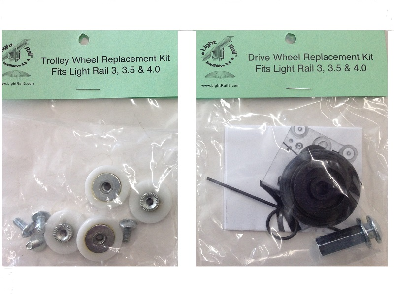 LightRail Trolley Wheel Drive Wheel Combo Pack