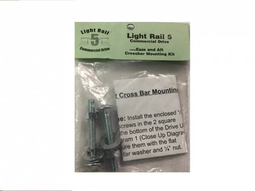 LightRail 5.0 Crossbar Mounting Kit