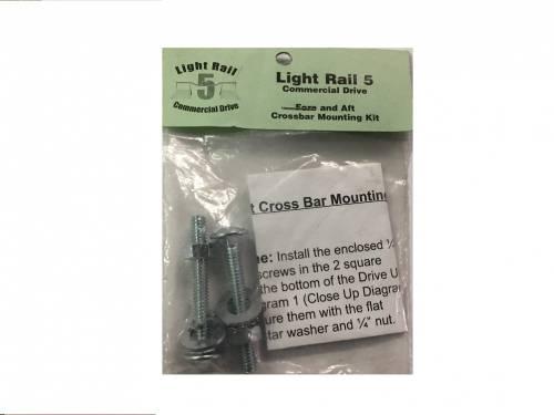 LightRail 5.0 Crossbar Mounting Kit